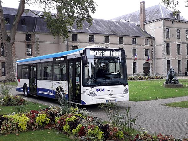 bus urbain Mairie Vendôme