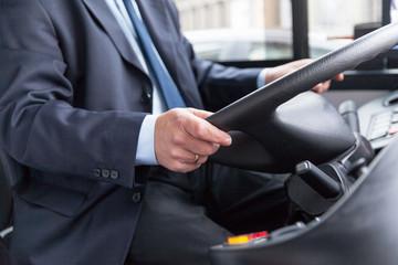 conducteur de car et de bus