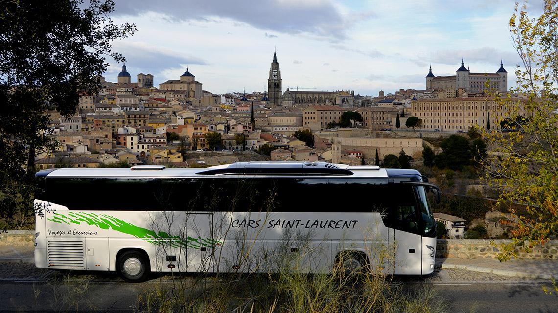 voyage en autocar en Espagne à Tolède