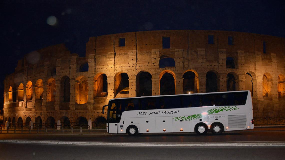 voyage en autocar en Italie