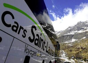 voyage en autocar à la montagne